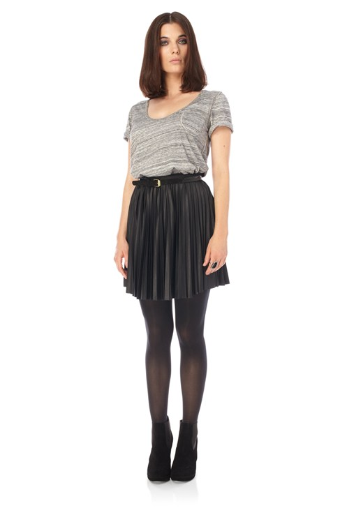 Posh Pleat Skirt