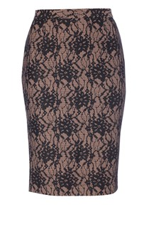 Luxury Lace Pencil Skirt