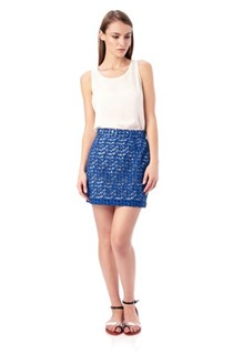 Fast Wilma Lace Short Skirt