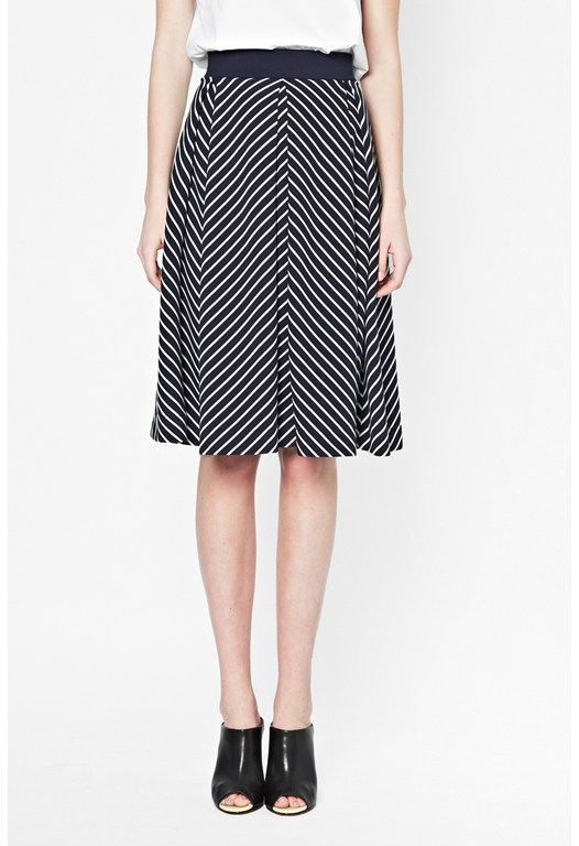 Suki Stripe Skirt