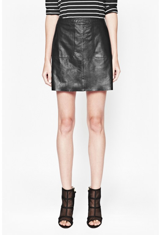 Jetson Leather Skirt