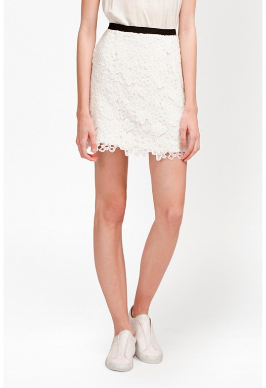 Mimi Bouquet Mini Skirt