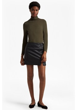 Filomena Faux Leather Mini Skirt