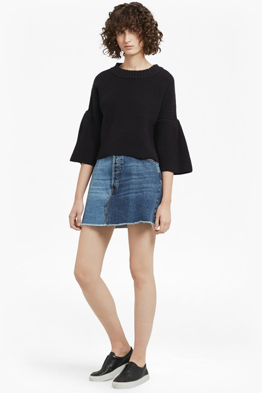 Complete the Look Allene Denim Skirt