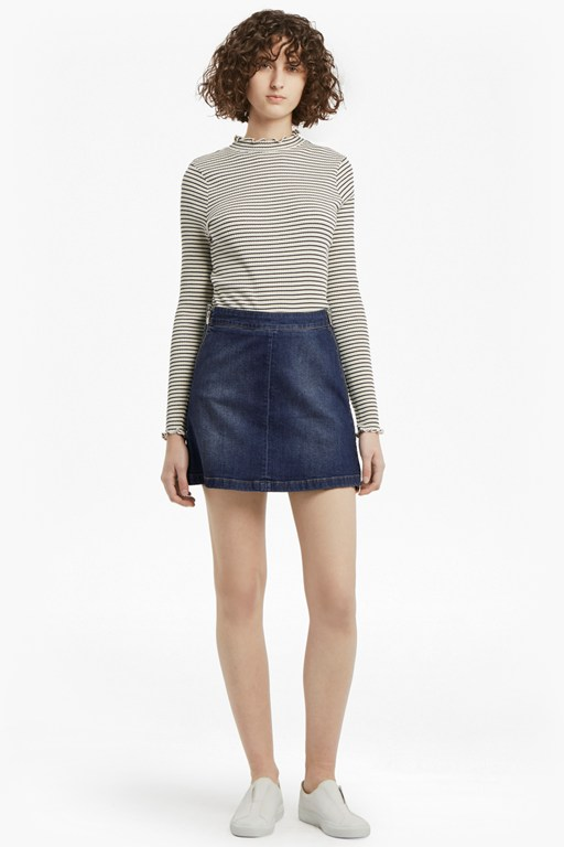 Complete the Look Canterbury Zipped Denim Skirt