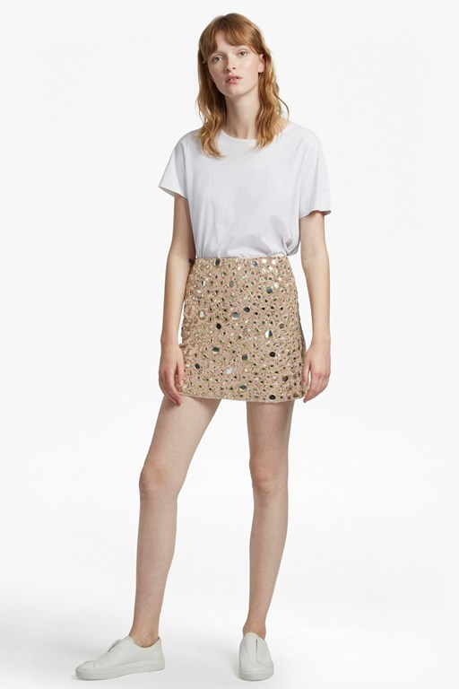 eloise mirrors mini skirt