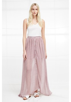 ELAO SHEER MAXI SKIRT
