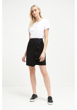 Sundae Suiting Frill Pencil Skirt