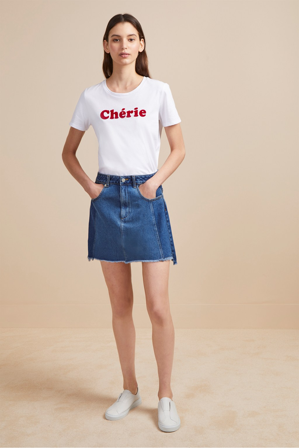factory outlet best supplier quality design Losa Denim Mini Skirt | Sale | French Connection Usa
