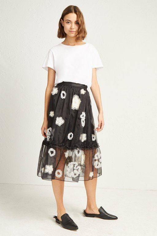 josephine embellished full skirt
