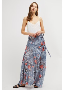 Cateline Devore Wrap Skirt