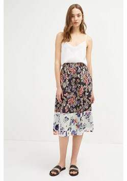 Acaena Viole Button Skirt