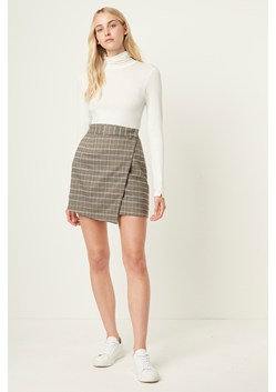 Amati Check Mini Skirt