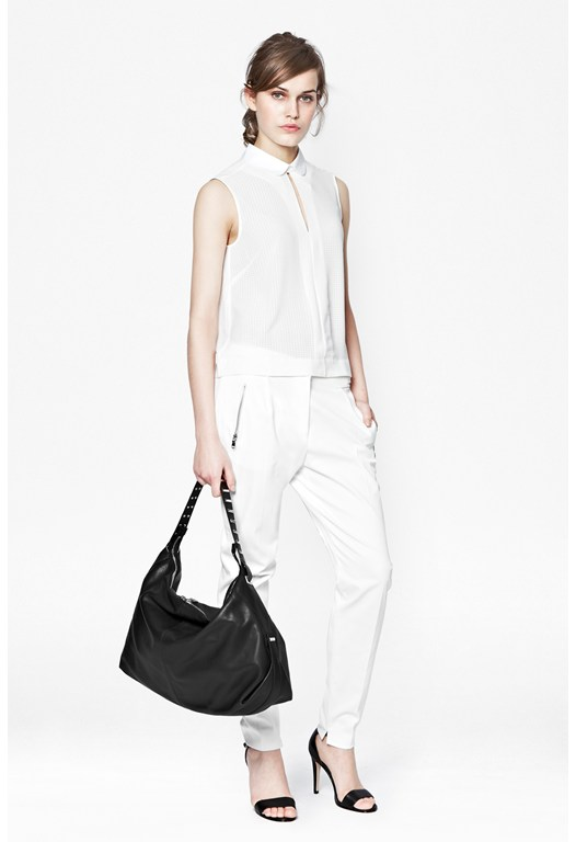 Isabela Drape Tapered Trousers