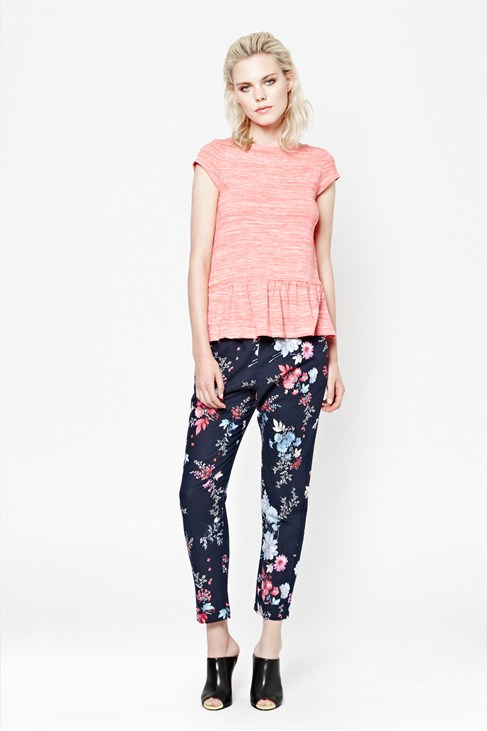 Genevieve Print Trousers