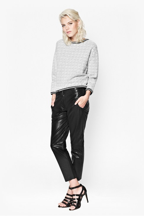 Jet Leather Trousers