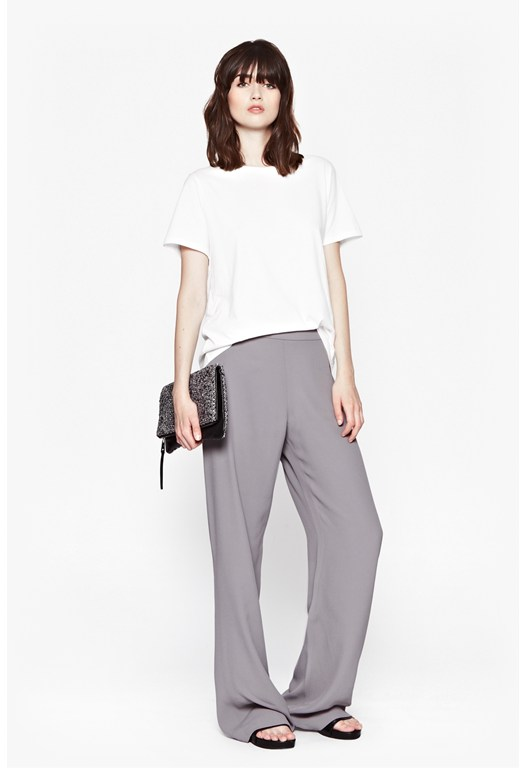 Emmeline Crepe Flared Trousers