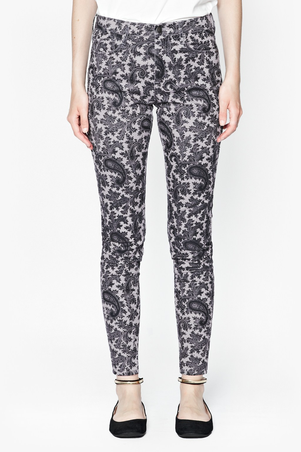 Paisley Party Printed Jeans