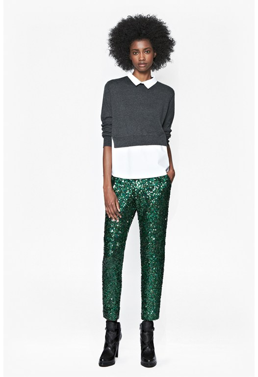 Sirius Sequinned Trousers