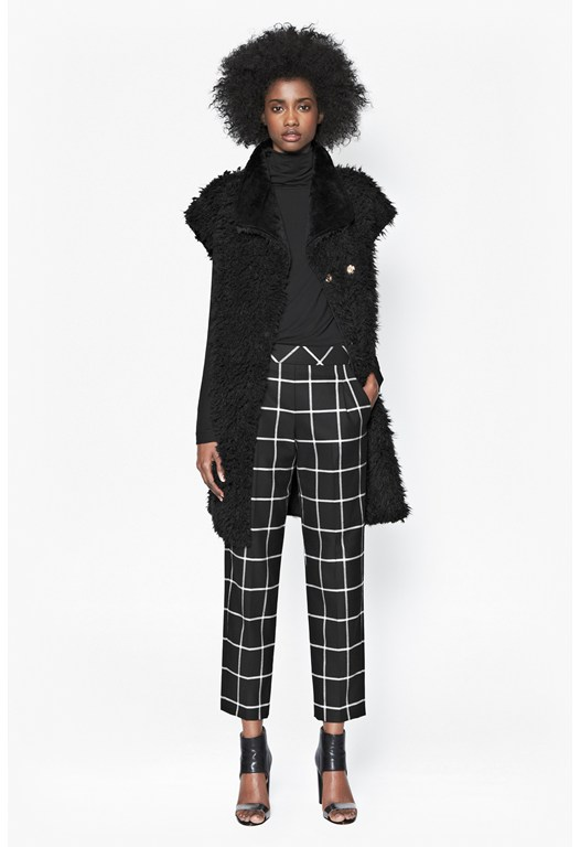 Ciao Checked Trousers