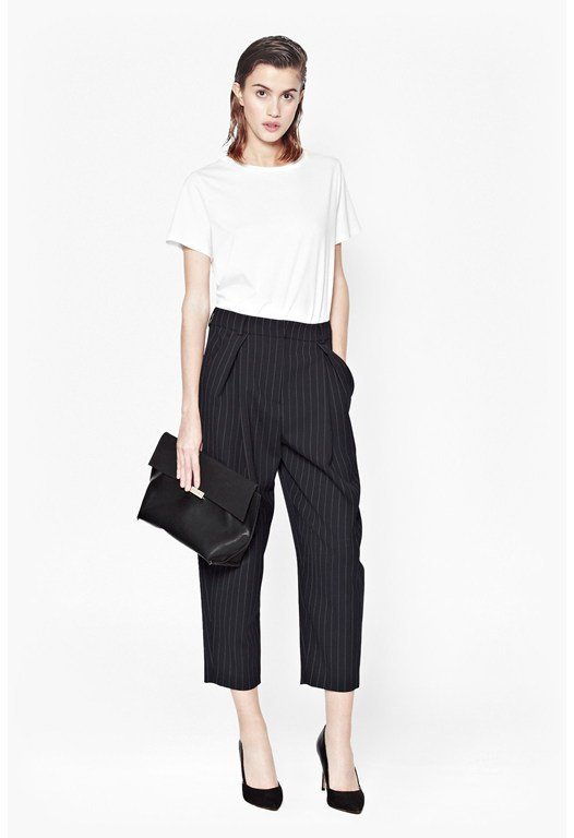 Giant Pinstriped Trousers