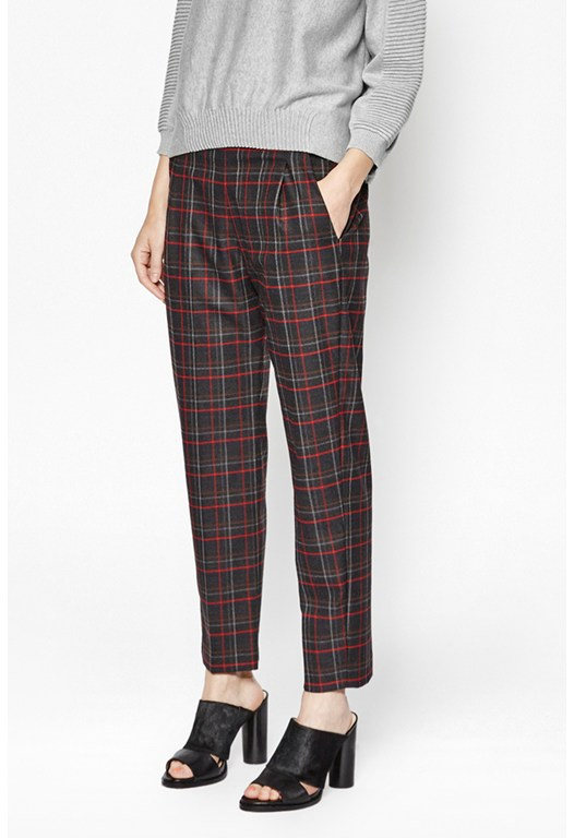 Soho Checked Pants