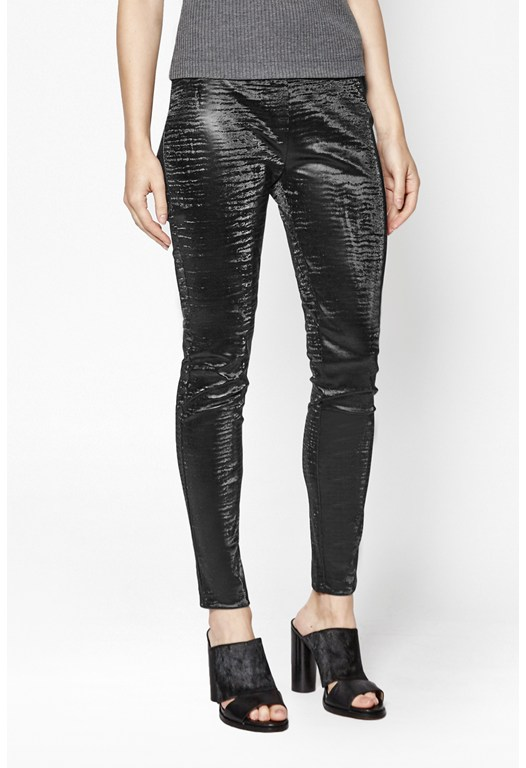Lacquer Faux Leather Leggings