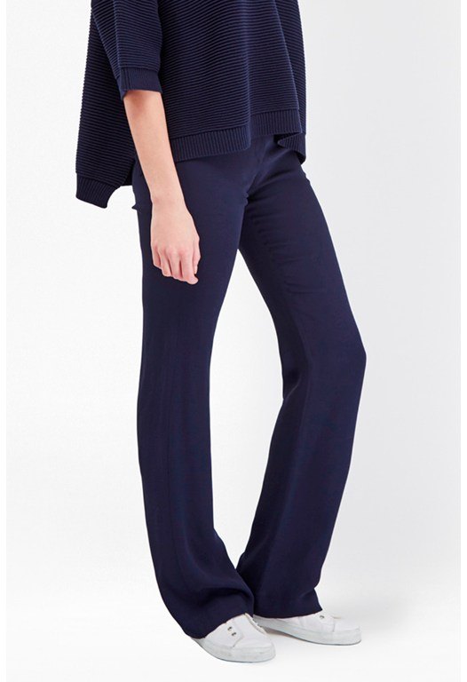 Rikki Crepe Bootcut Trousers