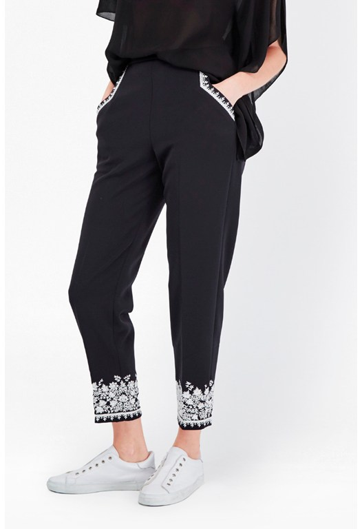 Jasmine Embroidered Trousers