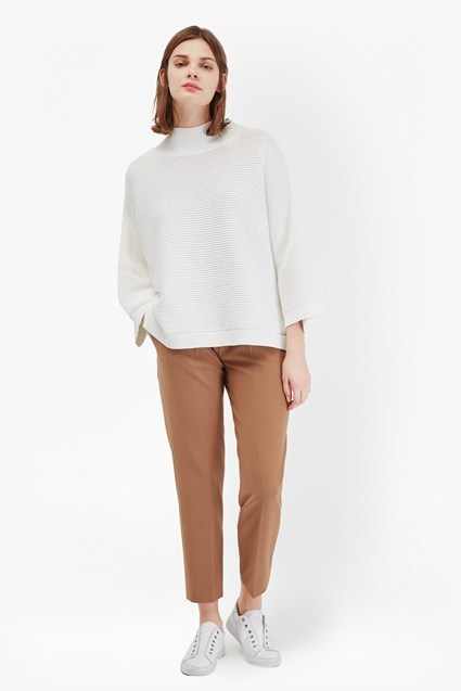 Whisper Light Cropped Peg Trousers