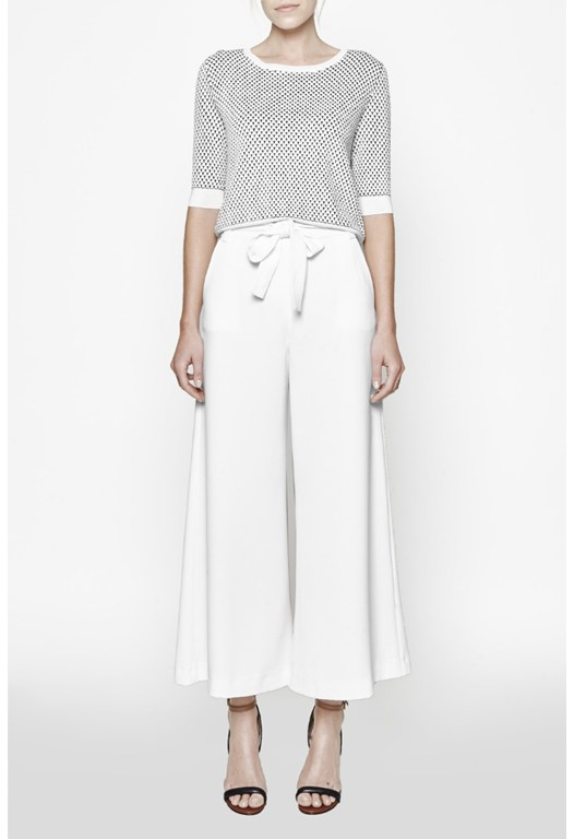 Arrow Wide Leg Trousers