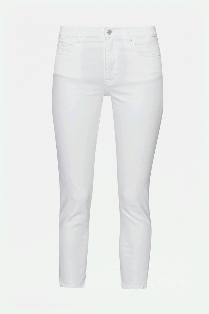White Super Sung Skinny Jeans