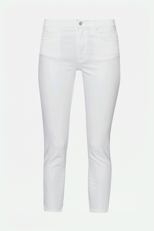 Complete the Look White Super Sung Skinny Jeans