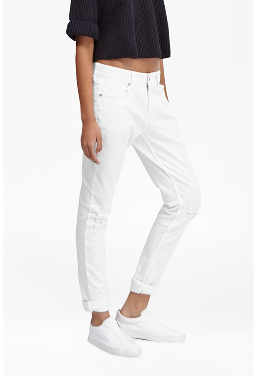 Summer White Denim Jeans