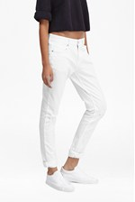 Looks Great With Summer White Denim Jeans