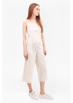 Holiday Lace Gaucho Pants