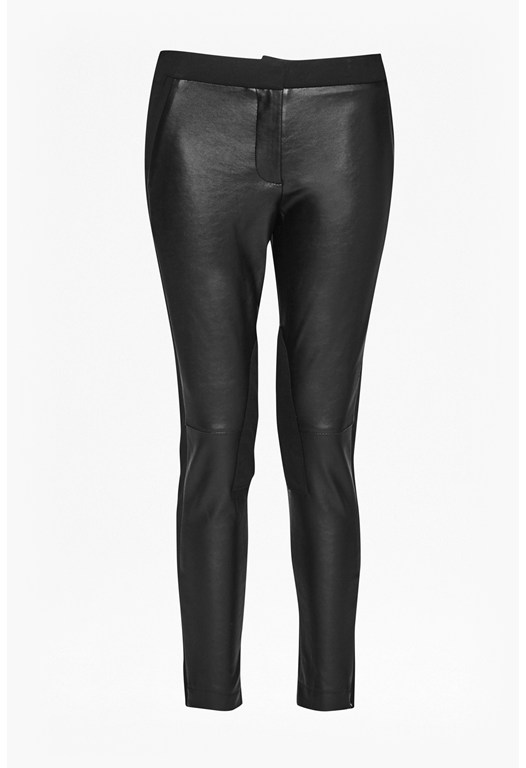Street Faux Leather Skinny Pants
