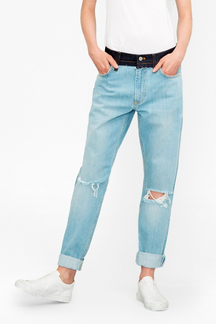 The Mash Up Denim Boyfit Jeans