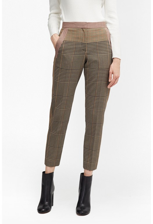 Prince Mix Suiting Trousers