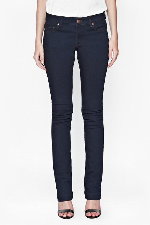 Navy Royal Slim Boot Cut Jeans