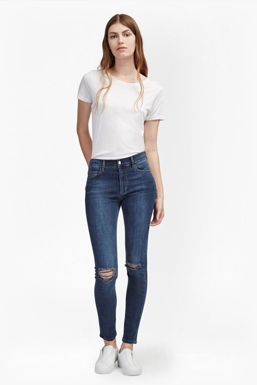 New Rebound Ripped Knee Skinny Jeans
