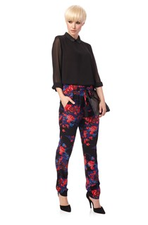 Shanghai Dream Tie Trousers