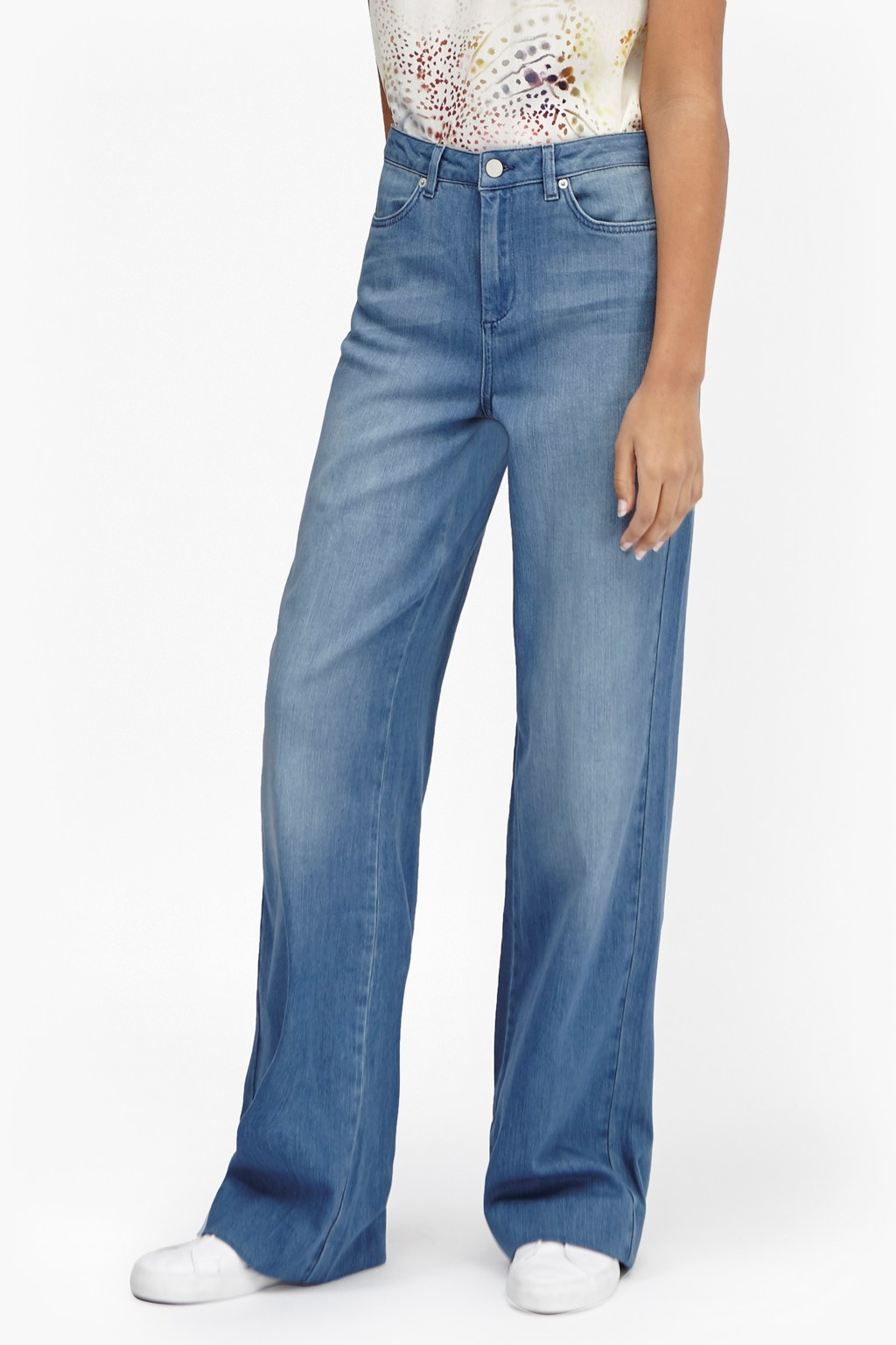 Cushie Vintage Wide Leg Jeans | Sale | French Connection Usa