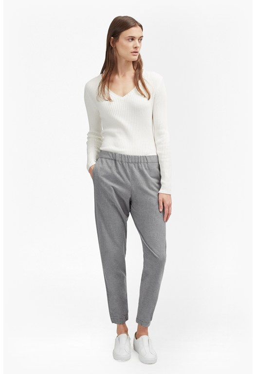 Winter Flannel Jogger Trousers