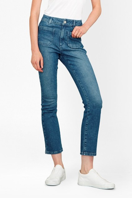 The Ash Kick Crop Jeans