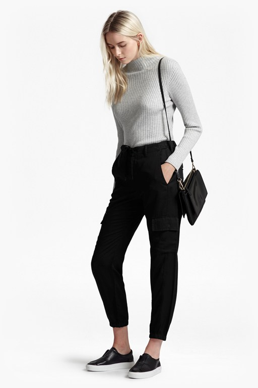 Complete the Look Military Tencel Tapered Trousers