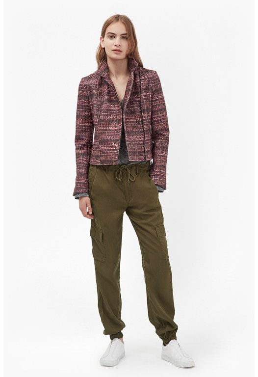 Military Tencel Tapered  Pants