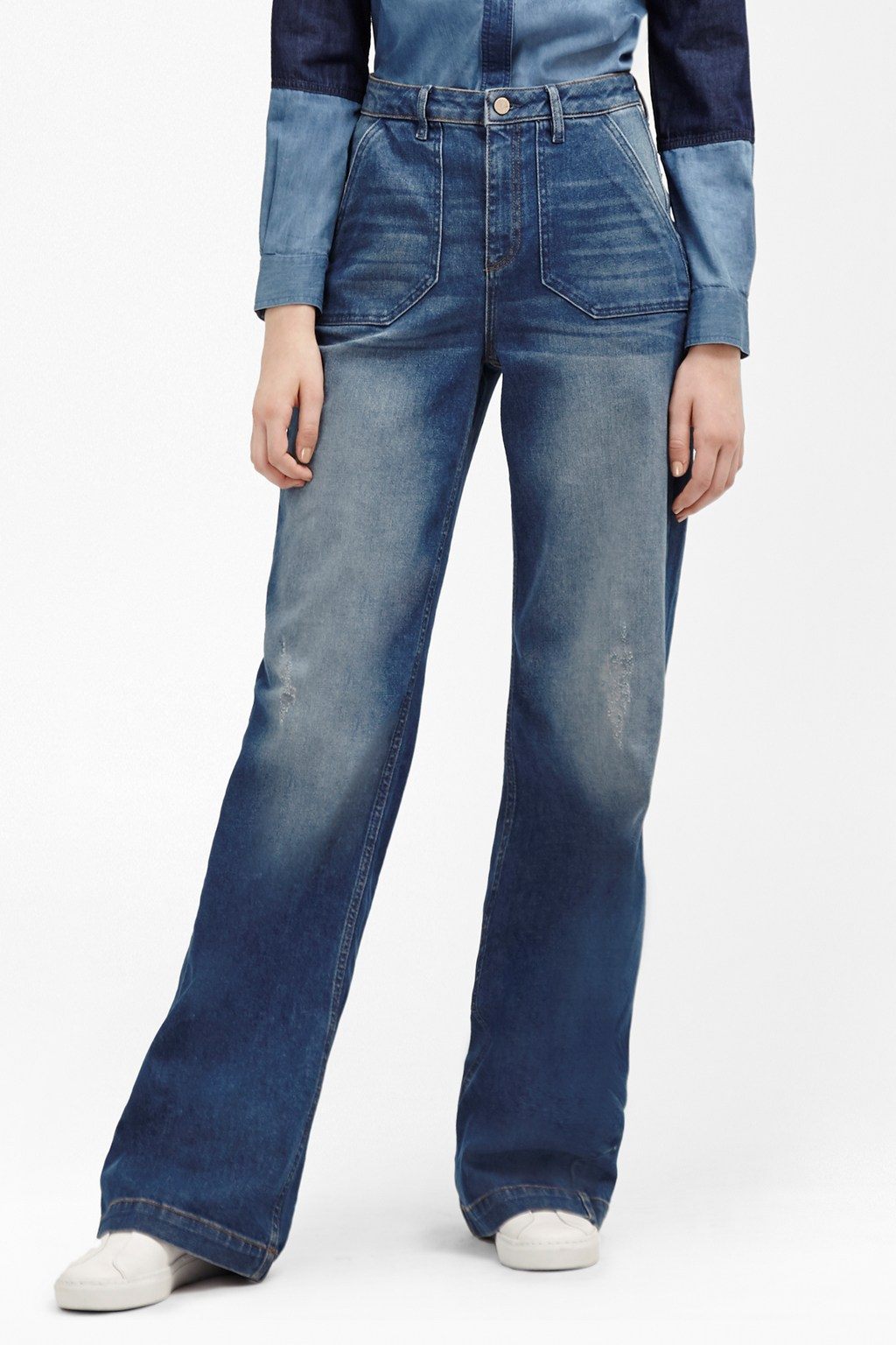 The Ash Wide Leg Jeans | Sale | French Connection Usa