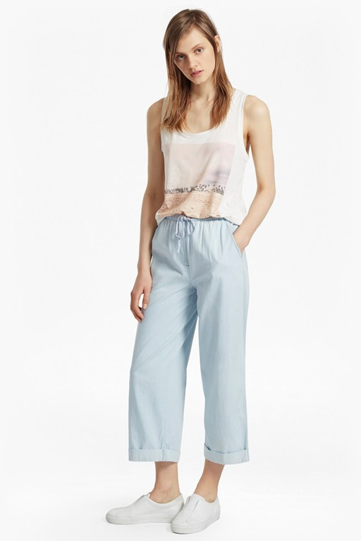 Complete the Look Salt Water Denim Culottes