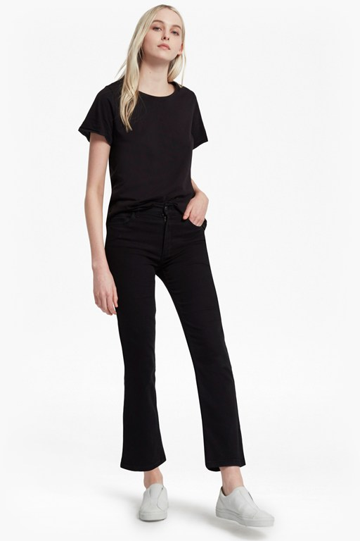 Complete the Look Rebound Cropped Kickflare Jeans